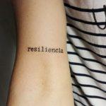 resiliencia tatuaje antebrazo piel tattoo