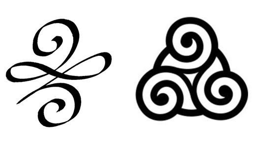 tatuaje tattoo símbolo celta fuerza perseverancia